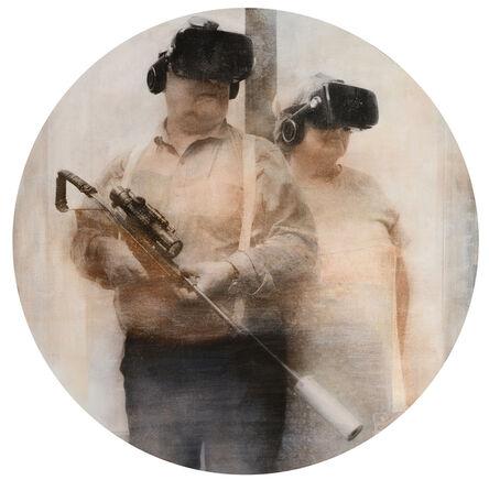 Gregori Maiofis, 'Retired Couple in Survival Mode', 2020-2021