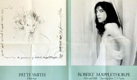 Robert Mapplethorpe, 'Robert Mapplethorpe Patti Smith 1978 exhibition poster ', 1978