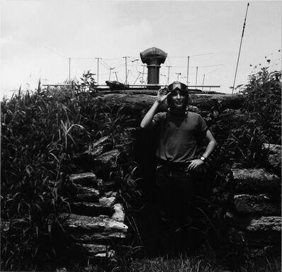 Ralph Eugene Meatyard, 'Untitled (Guy Mendes) [Boy Dressed as Airplane Pilot]', 1971