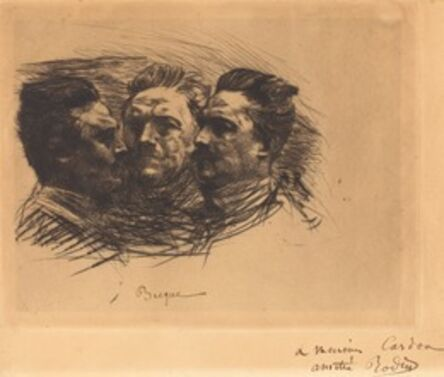 Auguste Rodin, 'Henri Becque', 1885