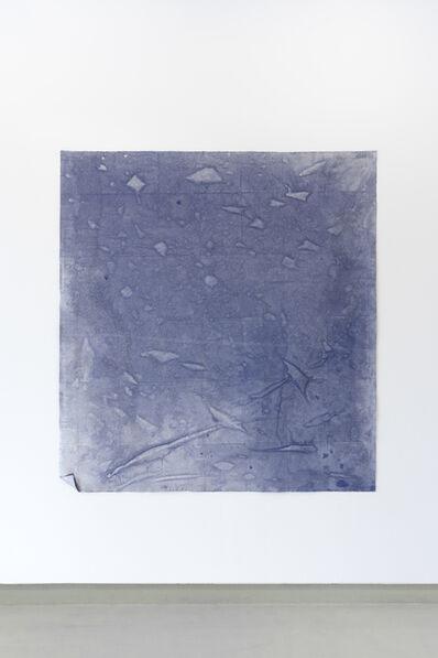 Maria Trabulo, 'Red Wine Sea - blue', 2017