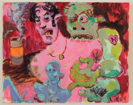 Richard Hawkins, 'Nipplemonster', 2014