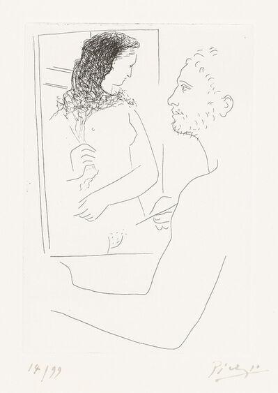 Pablo Picasso, 'Peintre Devant Son Tableau (Painter Before His Easel) from Le Chef-d'œuvre Inconnu', 1927