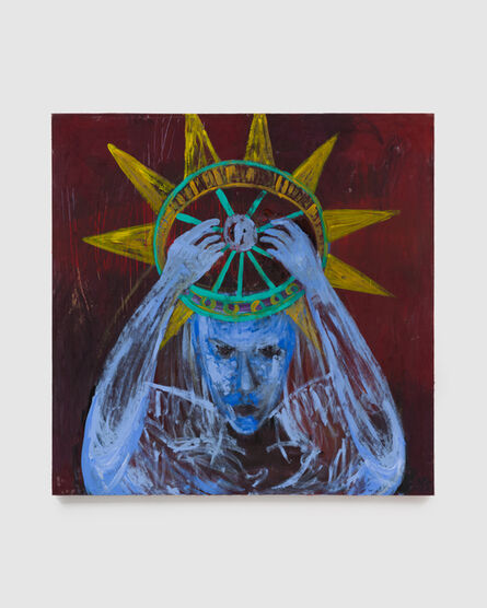 Ursula Reuter Christiansen, 'The Statue of Liberty Takes Off Her Crown', 2017
