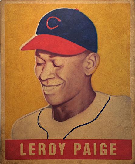 """George Mead, '1948 Leaf Leroy """"Satchel"""" Paige', 2017"""