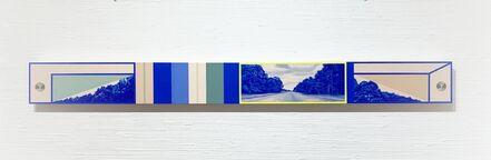 Namwon Choi, 'Blue Distant (Configuration 1)', 2020
