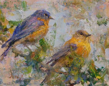 Derek Penix, 'Blue Birds', 2015