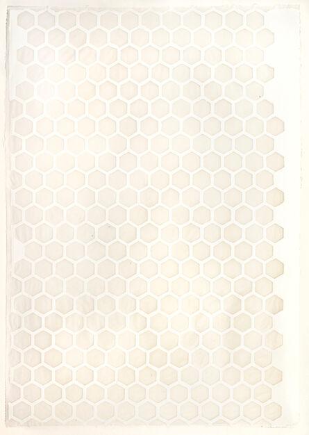 Teresa Cole, 'White Hexagons', 2015