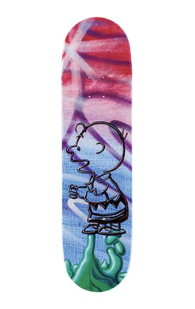 Kenny Scharf, ''Peanuts' (Skateboard Deck-solo)', 2020