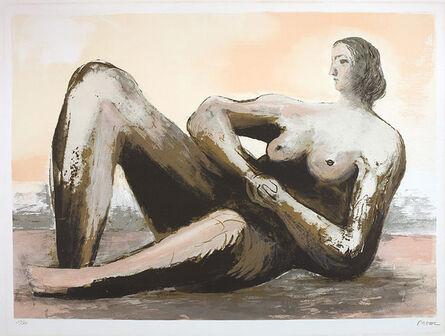 Henry Moore, 'Reclining woman III', 1980-1981