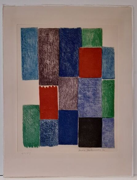 Sonia Delaunay, 'Avec moi-même ', 1970