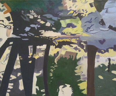 Ralph Wickiser, 'Trees Reflected', 1997