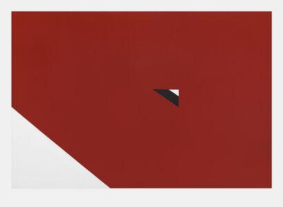 Al Held, 'Upside Down Triangle', 1966
