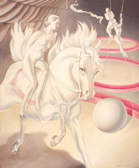 Clarence Holbrook Carter, 'Circus Scene'