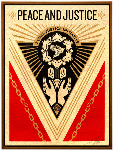 Shepard Fairey, 'Peace and Justice Summit', 2018