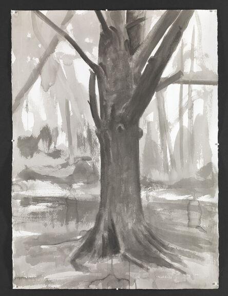 George Shaw (b. 1966), 'Study for Hanging Around III ', 2015
