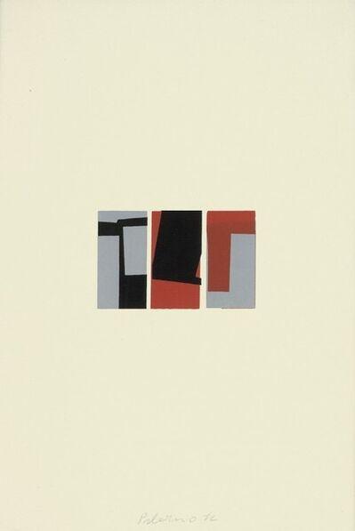 Blinky Palermo, 'Dreiteilige Miniatur', 1972