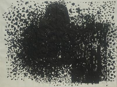 Adeine de la Noe, 'Snowing No. 8', 1961