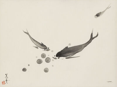 Minol Araki, 'Three Fishes (MA-271)', 1978
