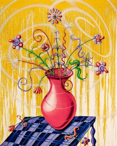Kenny Scharf, 'Flora Yellow', 2020