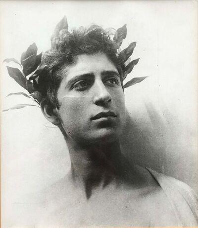 Wilhelm Von Gloeden, 'Untitled (Young Man with Wreath)', ca. 1890/1955