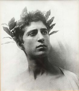 Wilhelm Von Gloeden, 'Untitled (Young Man with Wreath)', ca. 1890/1955