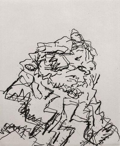 Frank Auerbach, 'JYM', 1989