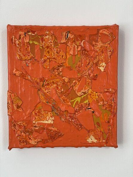 Christina Zurfluh, 'Orange', 2020/21