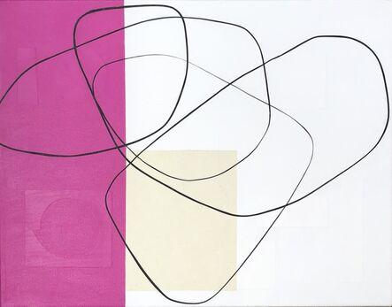 Maura Segal, 'Fuschia and White', 2019