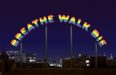 Ugo Rondinone, 'BREATHE WALK DIE', 2014
