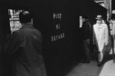 Paul Greenberg, 'Post No Dreams, NYC', ca. 1975