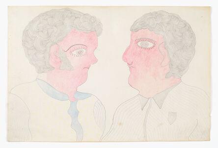Inez Nathaniel Walker, 'Untitled (Two Heads)', ca. 1975