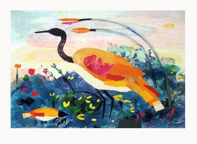 Valentina DuBasky, 'Lake Site with Amber Heron', 2014