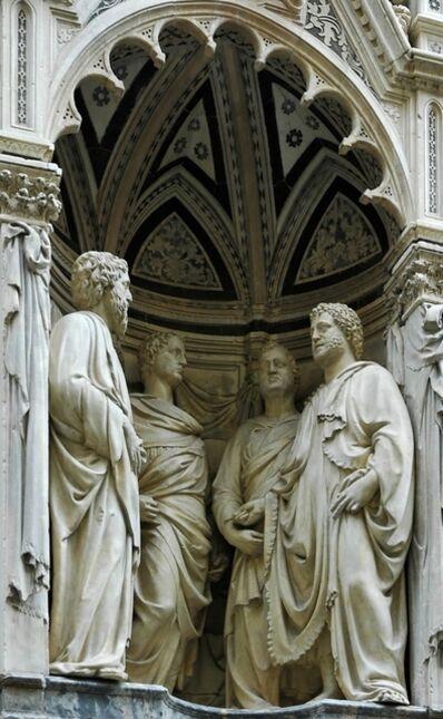 Nanni di Banco, 'The Four Crowned Martyrs', ca. 1409-17