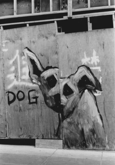 Arabella Colton, 'Split Wall Dog, Dog, Grant Ave, San Francisco 1992', 1992