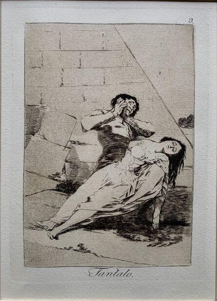 "Francisco de Goya, '""Tantalo""', 1799-1803"
