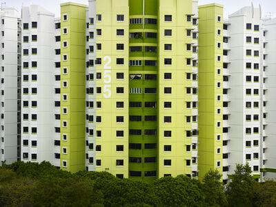Peter Steinhauer, 'Blcok #255, Singapore'