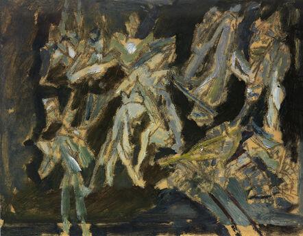 David Bomberg, 'Bomb Store', 1942