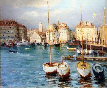 Marcel Dyf, 'Scène de Port', ca. 1930