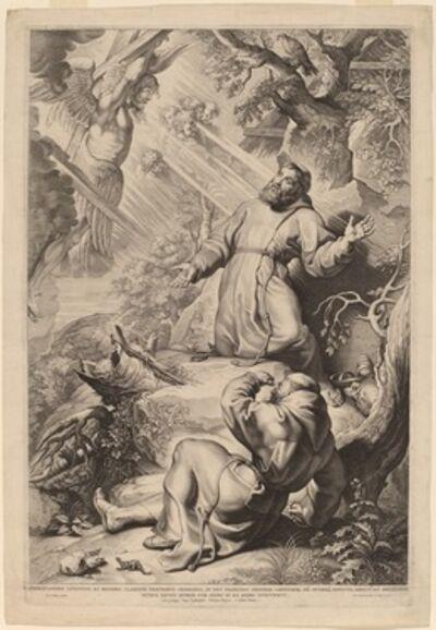 Lucas Emil Vorsterman after Sir Peter Paul Rubens, 'Saint Francis Receiving the Stigmata'