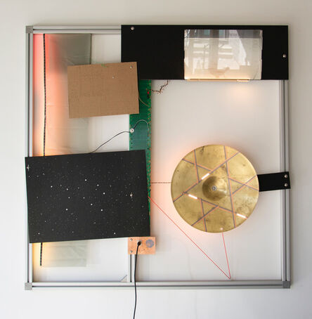 Haroon Mirza, 'The Virgin Will Keep Rising (LED Circuit Composition #32)', 2020