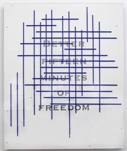 Pep Agut, 'Fifteen minutes', 2000