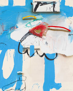 James Havard, 'Blue Hide', 1985