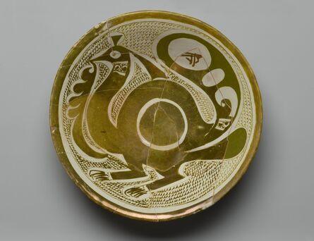'Bowl with Bird', 9th -10th century