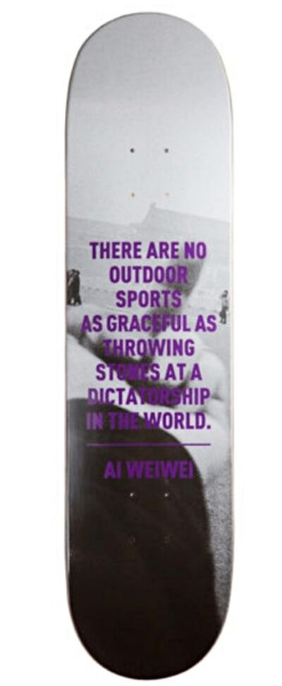 Ai Weiwei, 'F*?!k (There are No Outdoor Sports as Graceful as Throwing Stones at a Dictatorship in the World)', 2010