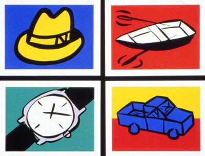 Tom Slaughter, 'Recession Prints I', 1991
