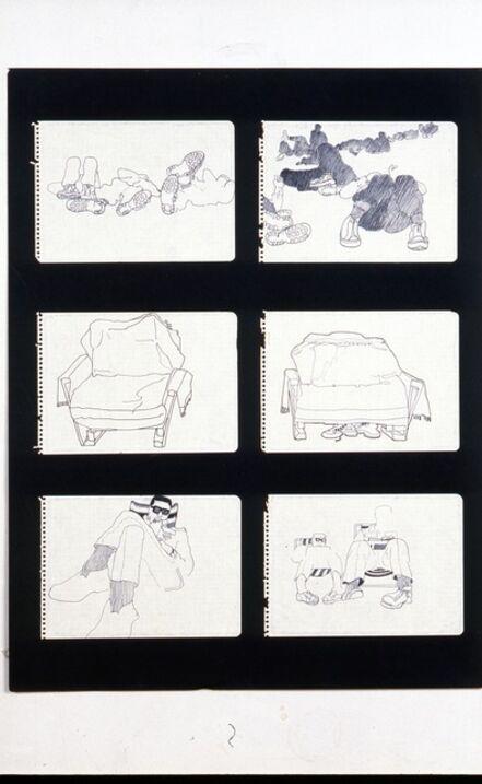 Antoni Miralda, 'Cuaderno Castillejos #4', 1965