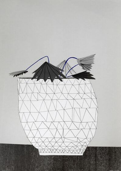 Jonas Wood, 'Untitled (Pot with Plant)', 2009