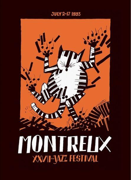 Tomi Ungerer, 'Montreux Jazz Poster', 1993