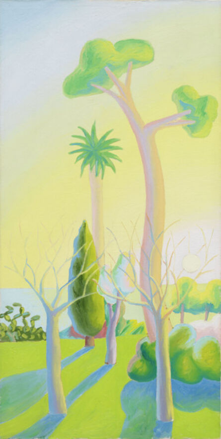 Salvo, 'Paesaggio Mediterraneo', 1985